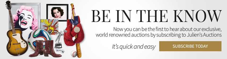 Julien's Auctions - Be in the know